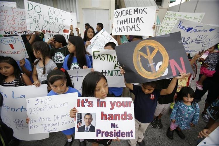 """La implementación de los decretos literalmente """"blinda"""" a varios millones de personas del riesgo de la deportación. (Foto Prensa Libre: Hemeroteca PL)"""