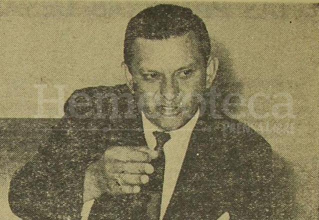 Abundio Maldonado durante los años como Agregado Militar en El Salvador. (Foto: Hemeroteca PL)