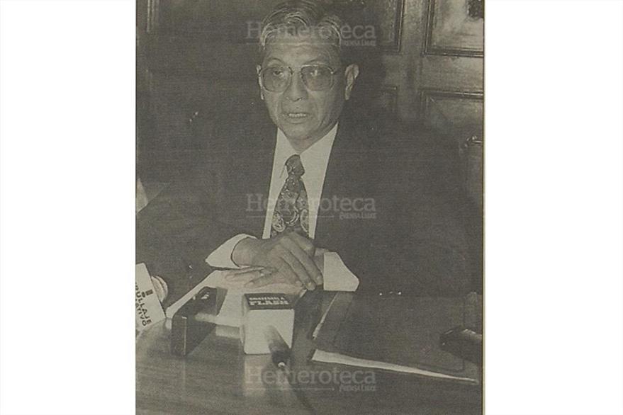 Celestino Alfredo Tay Coyoy, ministro de Educación durante el gobierno de Ramiro de León Carpio. (Foto: Hemeroteca PL)