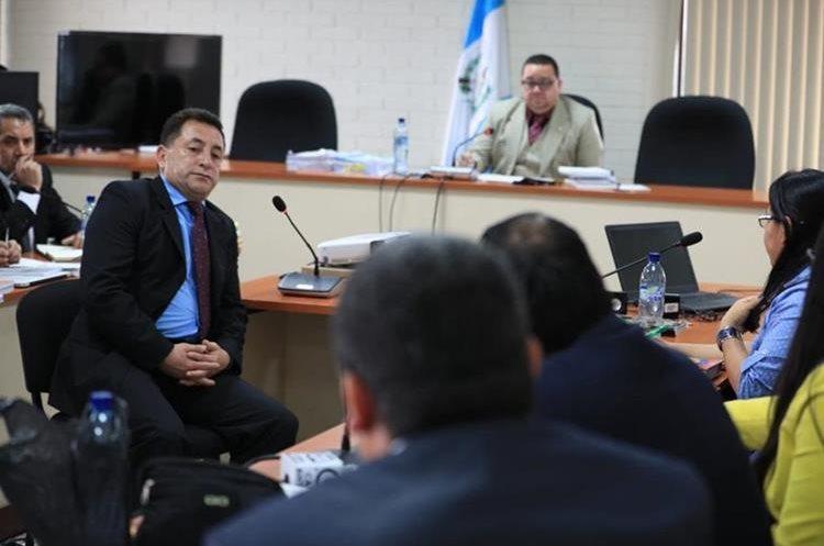 El coronel Ariel Salvador de León fue señalado por la Fiscalía. (Foto Prensa Libre: Hemeroteca)