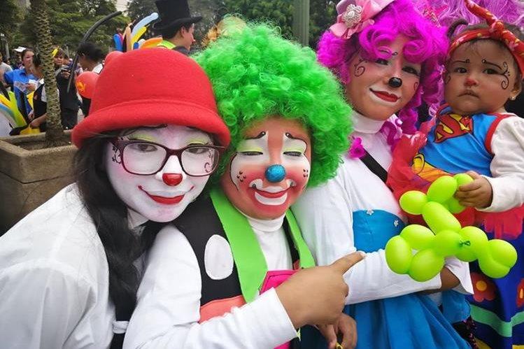Risas y diversión imperarán durante el festival. (Foto Prensa Libre: José Manuel Patzán)