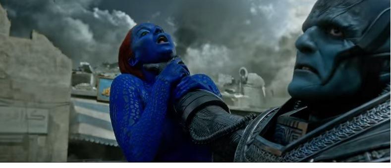 Óscar Isaac interpreta a Apocalipsis, quien enfrenta a los X-Men. (Foto Prensa Libre: Tomada de Youtube)