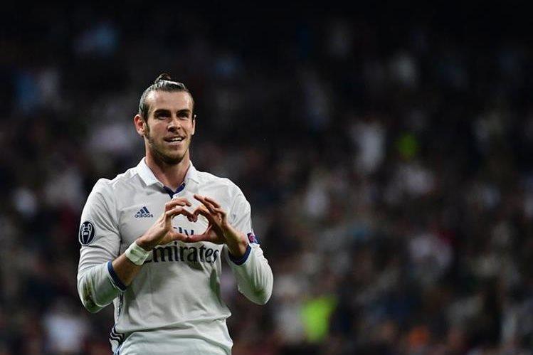 Gareth Bale es llamado el sucesor de Cristiano Ronaldo en el Real Madrid como líder del equipo blanco. (Foto Prensa Libre: AFP)