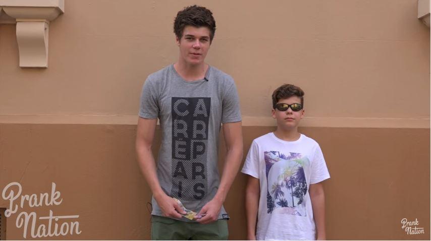 Estos son los dos hermanos que efectuaro el experimento en EE. UU. (YouTube).