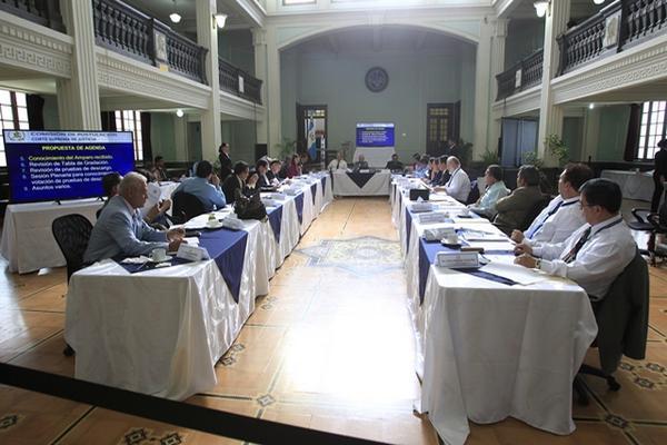 """<p>La Comisión de Postulación de la CSJ recibió este jueves varios reveses en material legal. (Foto Prensa Libre. Erick Ávila)<br _mce_bogus=""""1""""></p>"""
