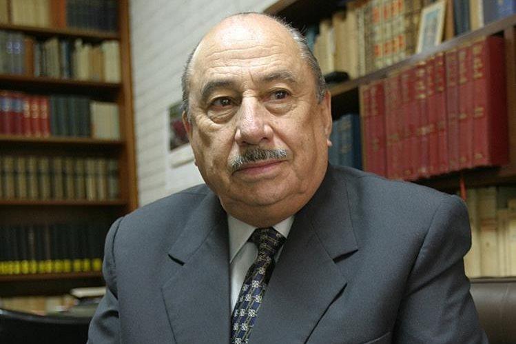 Félix Castillo Milla durante una entrevista con Prensa Libre. (Foto Hemeroteca PL).