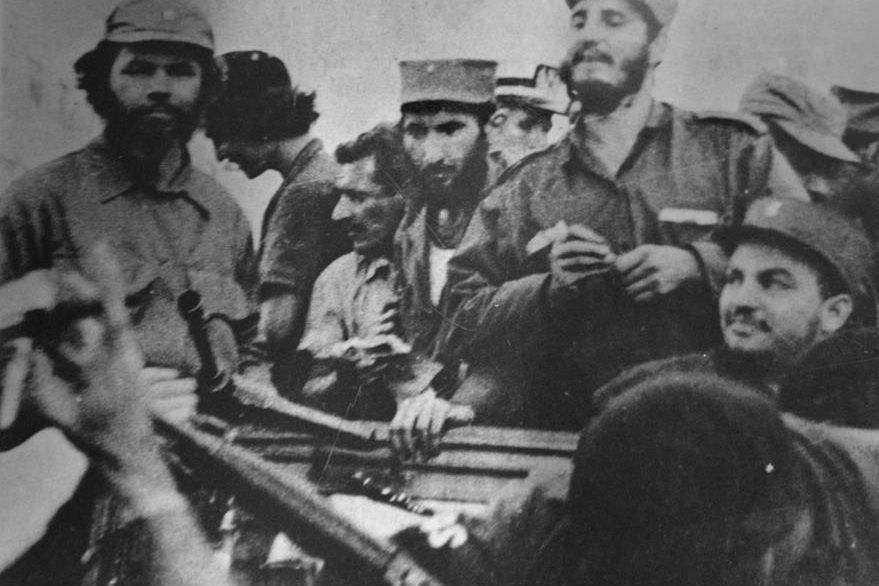 Los líderes de la Revolución entrando a la Habana en 1959. (Foto: EFE)