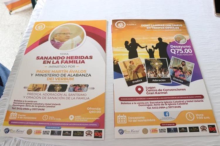 Estos son los detalles de las actividades para el 9 y 10 de noviembre de este año. (Foto Prensa Libre: María Longo)