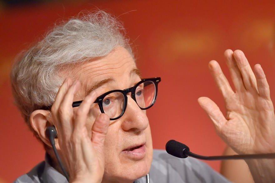 El director estadounidense, durante conferencia de prensa. (Foto Prensa Libre, AFP)