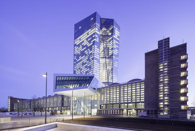 Sede del Banco Central Europeo, en Fráncfort, Alemania. (Foto Prensa Libre: internet)