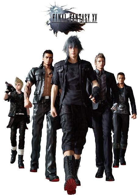 Esta vez los protagonistas son un grupo de hombres jóvenes liderado por Noctis —al frente—. (Foto: Hemeroteca PL).