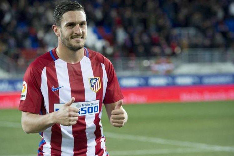 Koke seguirá vinculado al Atlético de Madrid hasta el 2024. (Foto Prensa Libre: Hemeroteca)