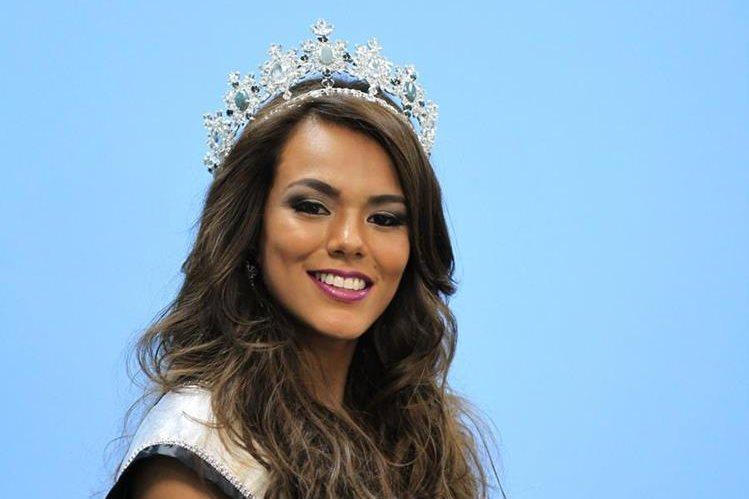 Virginia Argueta, Miss Universo Guatemala, durante su año de reinado espera apoyar programas enfocados en las madres solteras y en los jóvenes. (Foto Prensa Libre: Esbin García)