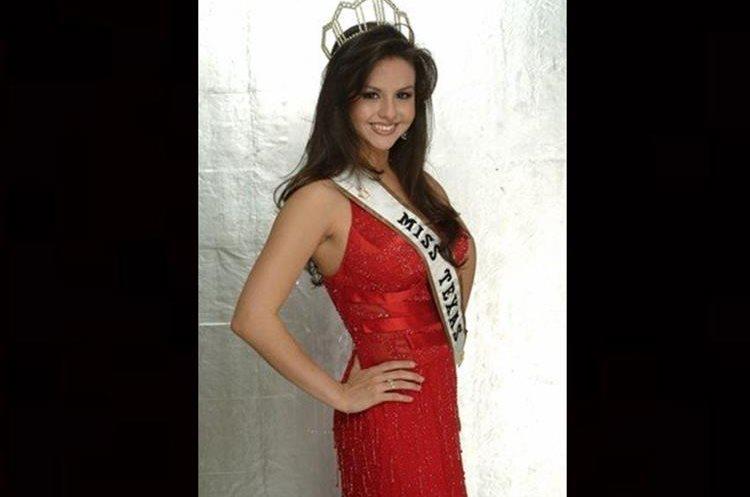 Fue Miss Texas Belleza Latina 2007. Foto: Prensa Libre: Idol Features.