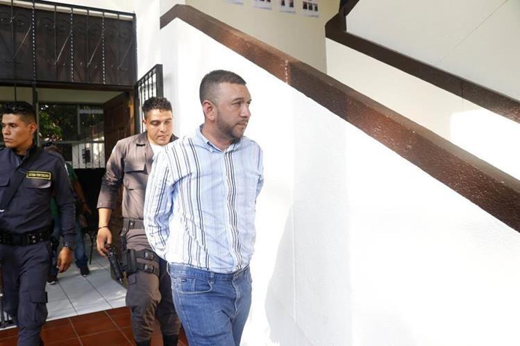 Luis Edwin Escobar Romero fue condenado este martes a 30 años de prisión por femicidio. (Foto Prensa Libre: Rolando Miranda)