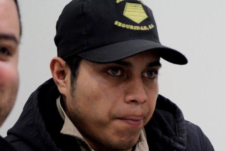Jairo Abimael Castellanos es sindicado de un crimen en Quetzaltenango. (Foto Prensa Libre: María José Longo).