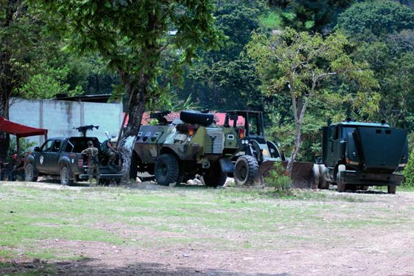 Destacamento militar en Mataquescuintla, Jalapa, inaugurado en mayo de 2013. (Foto Prensa Libre: Archivo: Hugo Oliva)