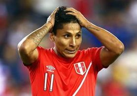 Ruidíaz eliminó a Brasil de la Copa América 2016 con un gol que quedó para la historia. (Foto Prensa Libre: AFP)