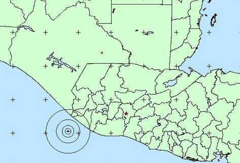 Interrupción del servicio eléctrico y telefónico se registraron luego del sismo. (Foto Prensa Libre: Insivumeh)