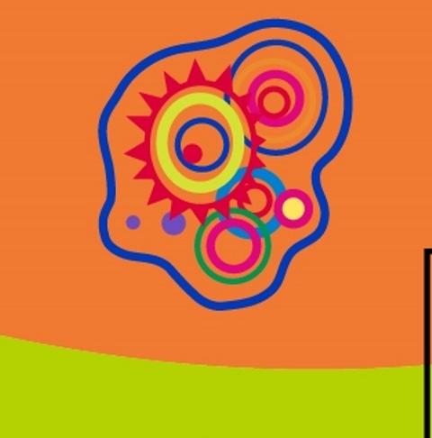 Pepo Toledo presentó los diseños de micro organismos que se plasmarán en la fachada del observatorio. (Foto Prensa Libre: Cortesía)