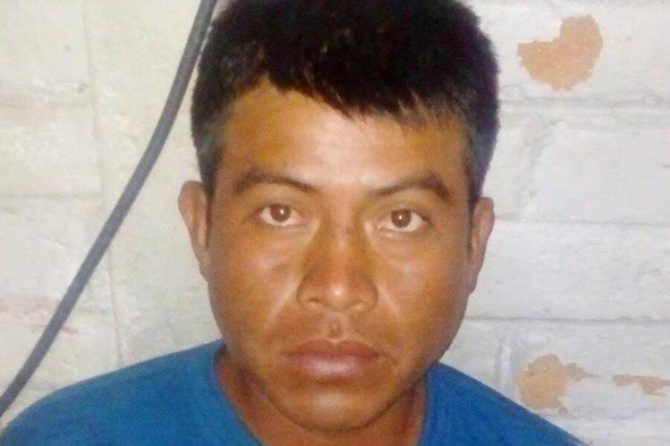 Miguel Tum Mayic es sindicado de homicidio, en Quiché. (Foto Prensa Libre: Óscar Figueroa)
