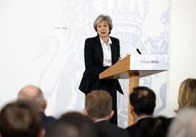 Theresa May insiste en que su país seguirá cooperando con la UE sobre política exterior.(AFP).