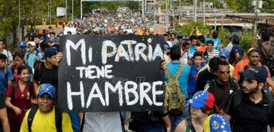 El hambre, una realidad inocultable en Venezuela.