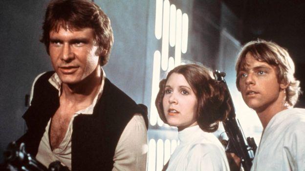 Star Wars se convirtió en una de las más grandes franquicias de la industria del cine. AP