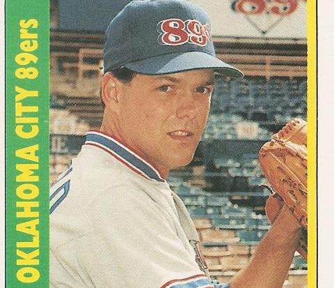 Barfield, en una tarjeta de colección de la MLB. (Foto Prensa Libre: Hemeroteca)