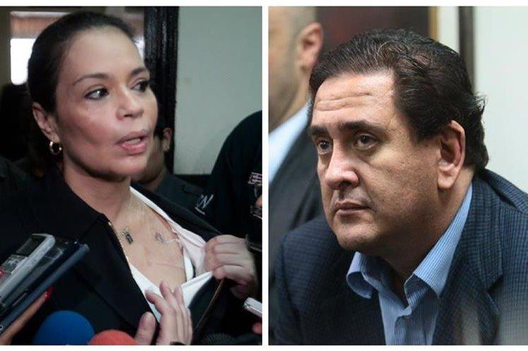 Roxana Baldetti y Gustavo Alejos, enfrentan proceso por el caso Cooptación del Estado de Guatemala. (Foto Prensa Libre: Hemeroteca PL)