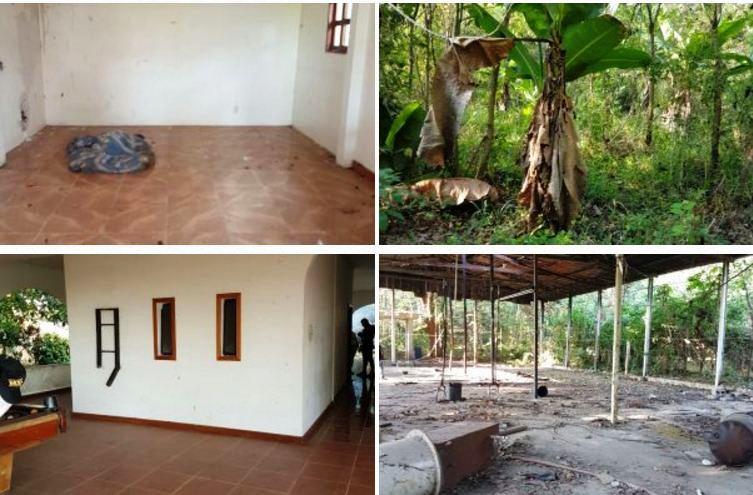 La propiedad está en Suchitepéquez y pasó a poder del Estado. (Foto Prensa Libre: MP)