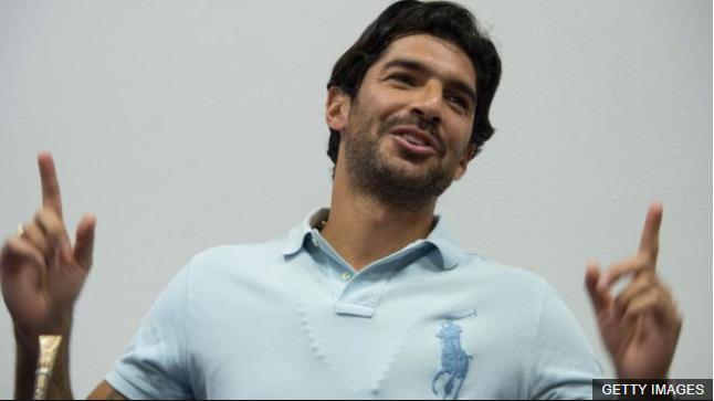 """Con 41 años, el """"Loco"""" Sebastián Abreu sigue anotando goles en Chile. (Foto Prensa Libre: BBC Mundo)"""