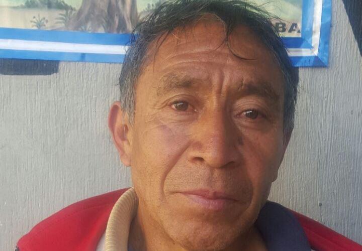Florencio Morales Mendoza fue capturado durante el operativo. (Foto Prensa Libre: PNC)
