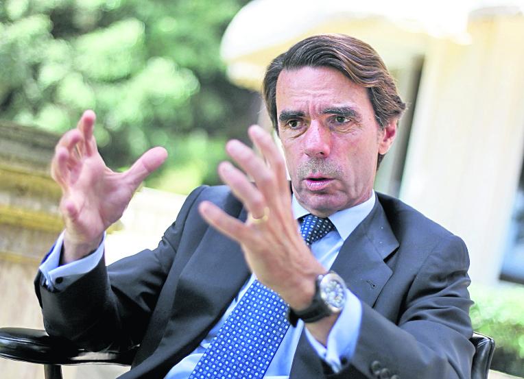 El expresidente del Gobierno español, José María Aznar, también se confabuló con Blair y Bush para no dialogar en invasión a Irak. (Foto Hemeroteca PL).