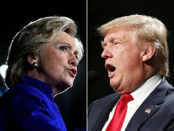 Hillary Clinton y Donald Trump refuerzan su campaña en estados claves para llegar a la Casa Blanca.(AFP).