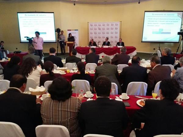 Sectores discuten hoy un plan para enderezar el trabajo de la SAT coptada por grupos paralelos que defraudan al fisco. (Foto Prensa Libre: E. Bercian)