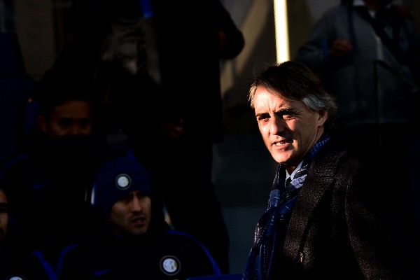 Roberto Mancini aseguró que personas como Maurizio Sarri no deberían estar en el futbol. (Foto Prensa Libre: AFP)