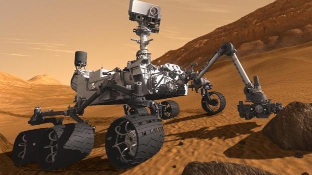 El robot Curiosity lleva cuatro años de estar sobre la superficie de Marte. (Foto Prensa Libre: robohub.org).