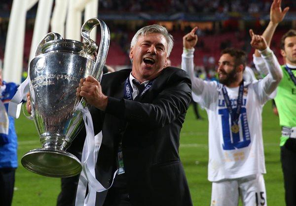 El técnico italino Carlo Ancelotti logró la décima Liga de Campeones para el Real Madrid el año pasado. (Foto Prensa Libre: Hemeroteca)