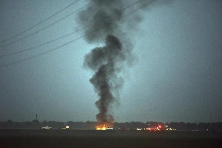 Se desconocen las causas del desplome de avión en EE. UU. (Foto Prensa Libre: AP)
