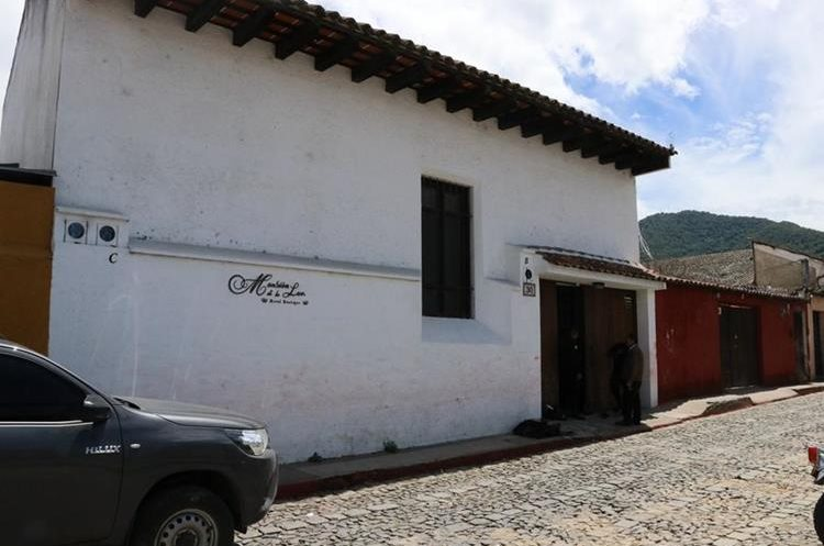 La Mansión de la Luz se encuentra en un exclusivo sector de Antigua Guatemala. (Foto Prensa Libre: Julio Sicán)