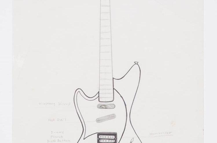 Kurt Cobain/SEA Guitar 2