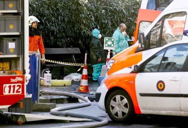 La mezquita, situada en el barrio donde se encuentran las instituciones de la Unión Europea (UE) , fue evacuada.