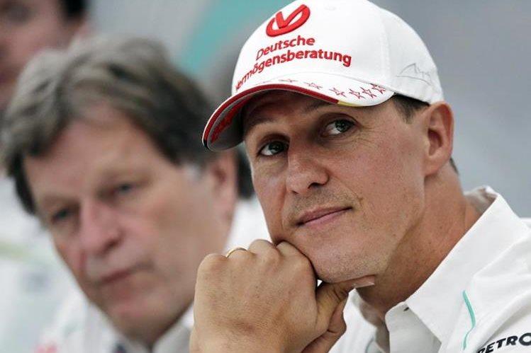 Schumacher sufrió un grave accidente durante las fiestas navideñas de 2013. (Foto Prensa Libre: Hemeroteca)