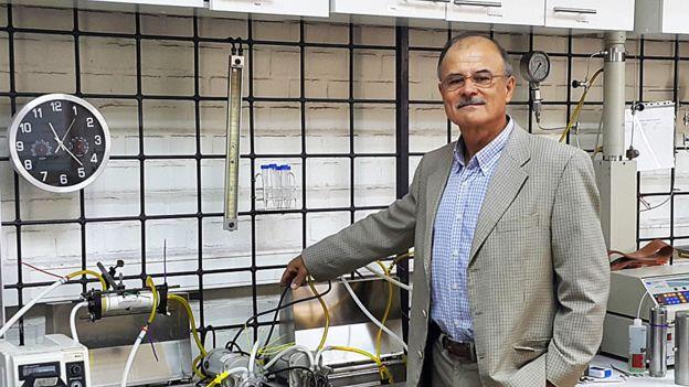 Chile es el país con mayor capacidad de desalinización de América Latina. El ingeniero químico Aldo Saavedra es investigador del Laboratorio de Procesos de Separación por Membranas, LabProSeM, en la Universidad de Santiago. GENTILEZA ALDO SAAVEDRA
