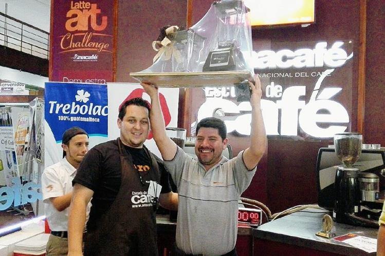 Ganador del mejor Latté fue premiado durante la Feria Alimentaria 2015.