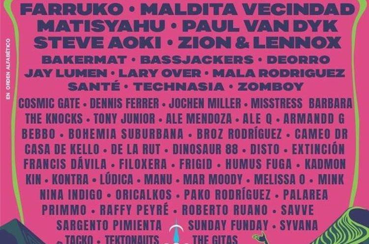 Cartel del próximo festival (Foto Prensa Libre: EMF).