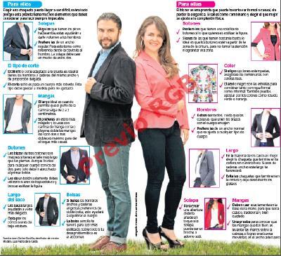 Elige las chaquetas o blazers confeccionadas con telas de buena calidad y que tengan buen corte, (FOTO PRENSA LIBRE: HEMEROTECA PL).