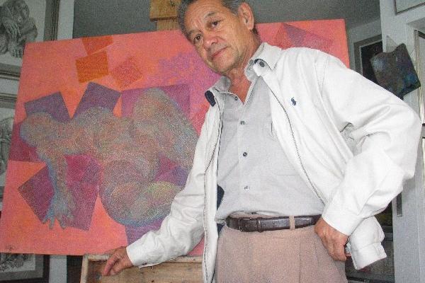 <p>Muere el artista plástico César Izquierdo. <br></p>