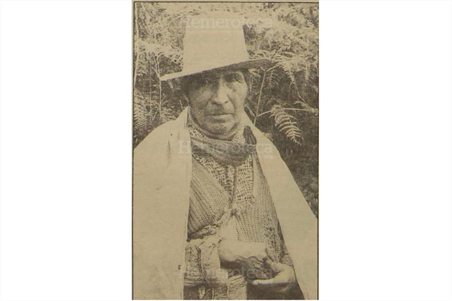 Baltazar López Pú, amigo y vecino de Vicente Menchú. (Foto: Hemeroteca PL)